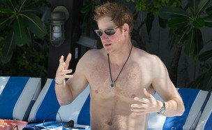 הנסיך הארי (צילום: Splashnews)