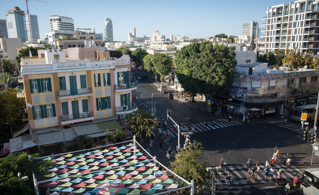 רחוב אלנבי (צילום: מרים אלסטר, פלאש 90)