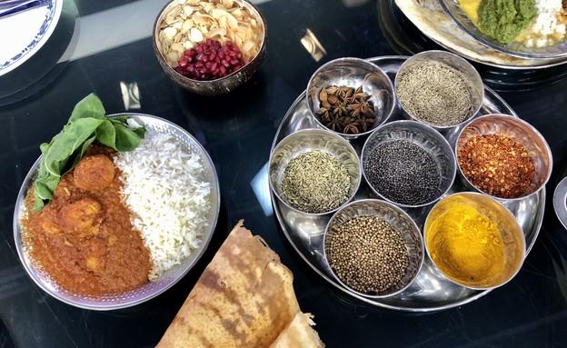 מונאר אוכל הודי  (צילום: ריטה גולדשטיין, אוכל טוב)