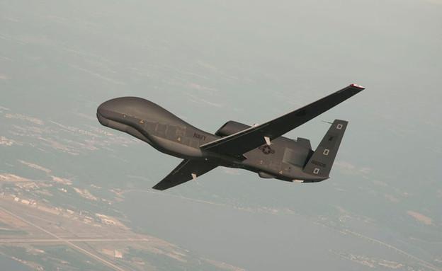 כלי טיס בלתי מאויש, גלובל הוק (צילום: רויטרס)
