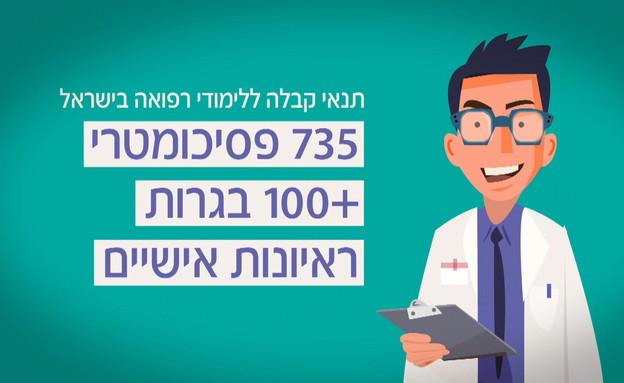 מחדל הרופאים הישראלי (צילום: החדשות 12)