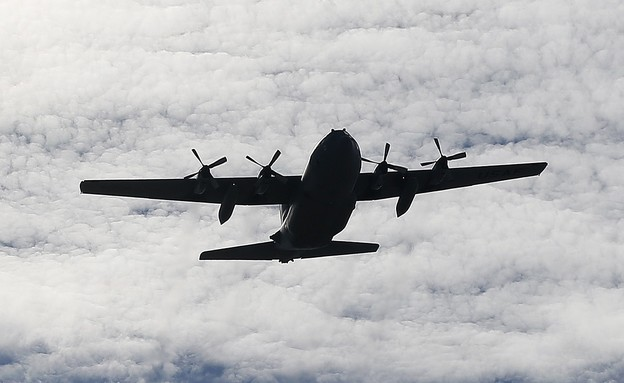 מטוס הרקולס C-130 (צילום: Bob Levey/Getty Images)