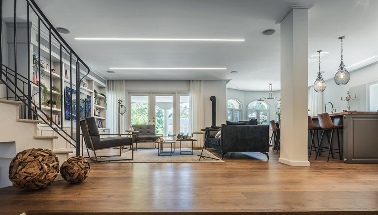 בית במרכז, עיצוב אודליה ברזילי