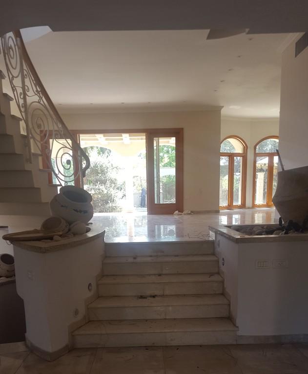 בית במרכז, ג, עיצוב אודליה ברזילי, לפני שיפוץ
