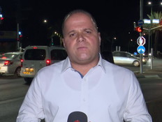 תומר גלאם- ראש עיריית אשקלון (צילום: החדשות 12)
