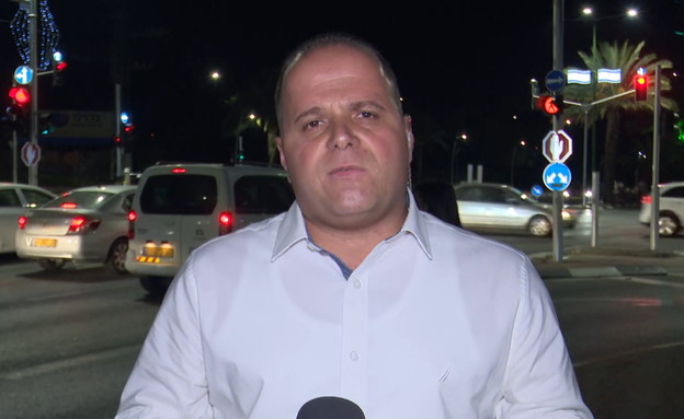 תומר גלאם- ראש עיריית אשקלון (צילום: החדשות12)