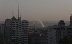 שיגורים מרצועת עזה לעבר ישראל