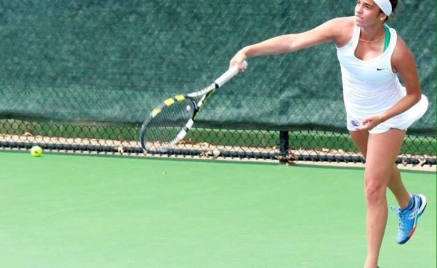 טלי מרקר, אלופת אקוודור בטניס (צילום: Louisiana Tech University)