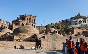 חמאם טורקי בלב העיר העתיקה - טביליסי (צילום: נמרוד מירום)