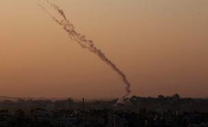 שיגורים מעזה לעבר יישובי הדרום (צילום: רויטרס)