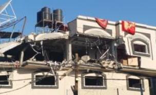 משרדי ארגון זכויות האדם הפלסטינים בעזה (צילום: האתר הרשמי)
