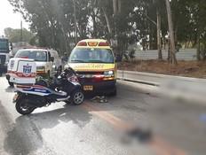 תאונה קטלנת ליד בית שמש: שני רוכבי אופנוע נהרגו