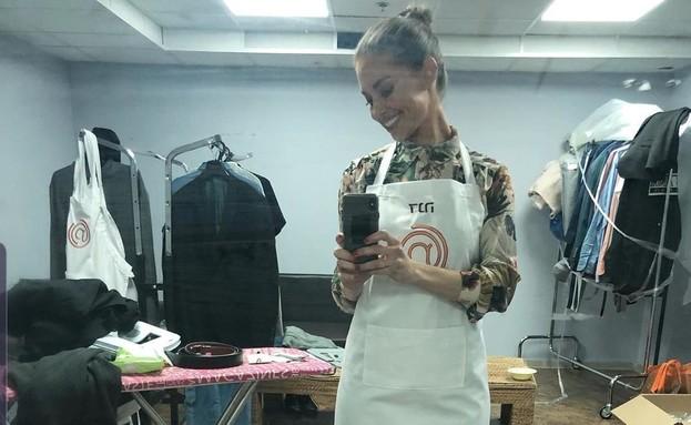 דנה גרוצקי במאסטר שף (צילום: Instagram/danagrotsky)