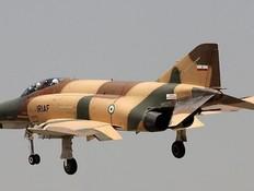מטוס הקרב (צילום: linceanalista@Twitter)