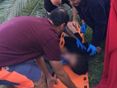 """אב בת ה-10 שנפגעה מקריסת עץ: """"פשוט ביש מזל"""""""