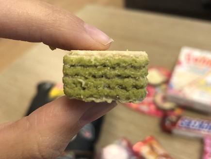 ממתקים מתאילנד - קוביית לואקר מאצ'ה