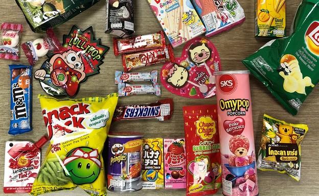 ממתקים מתאילנד  (צילום: ריטה גולדשטיין, אוכל טוב)