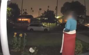 חטיפה בלוס אנג'לס (צילום: יוטיוב\Los Angeles Police Department)