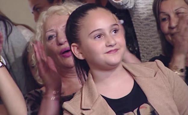 """צפו: אגם בוחבוט שרה בגיל 10 (צילום: מתוך """"שישי שמח"""", ערוץ 24)"""