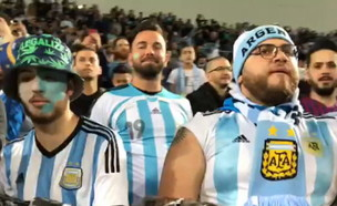 בן מיטלמן מאחורי הקלעים של החגיגה הדרום אמריקנית ב (צילום: החדשות 12)