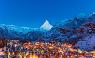 סקי בצמרט (צילום:  martinho Smart, shutterstock)