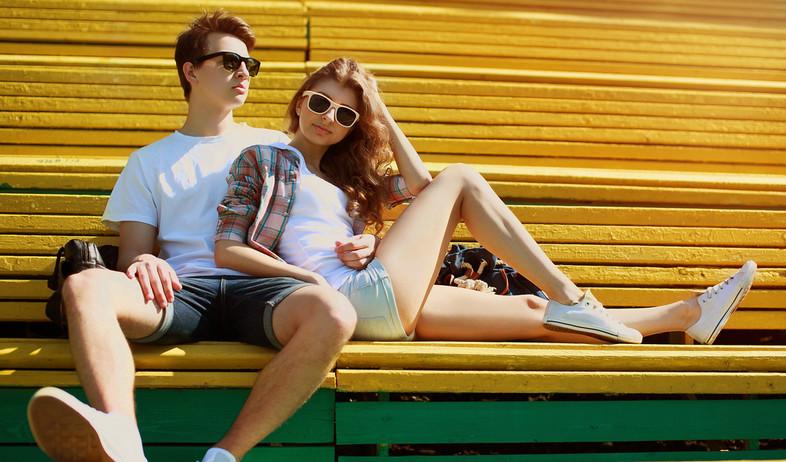 נער ונערה מגניבים (צילום: Shutterstock)