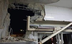תקיפה ישראלית בסוריה (צילום: AP)