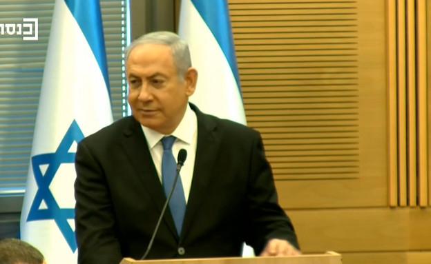ראש הממשלה בנימין נתניהו (צילום: ערוץ הכנסת)