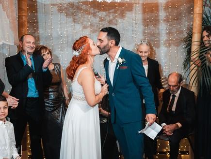 תמונות חתונה אלינה ובן