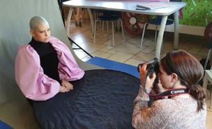 נעה הורן מתמודדת עם מחלת הסרטן  (צילום: החדשות 12)