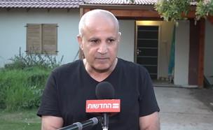 """יגאל נגר אביה של תהילה נגר ז""""ל  (צילום: החדשות 12)"""