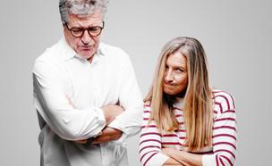 זוג מבוגר כועס (אילוסטרציה: Kues, shutterstock)