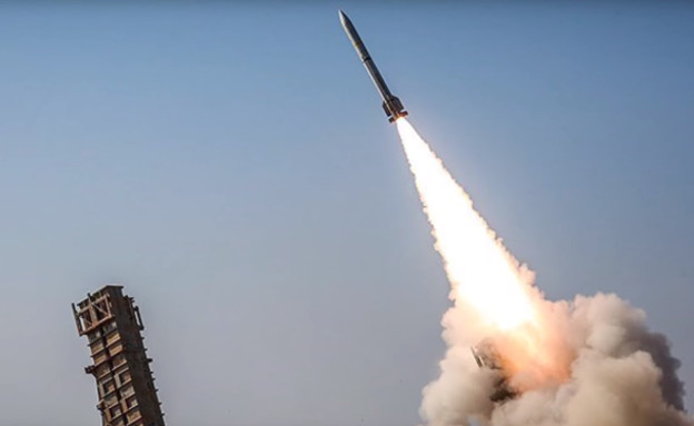 השיגור (צילום: Press TV, twitter)