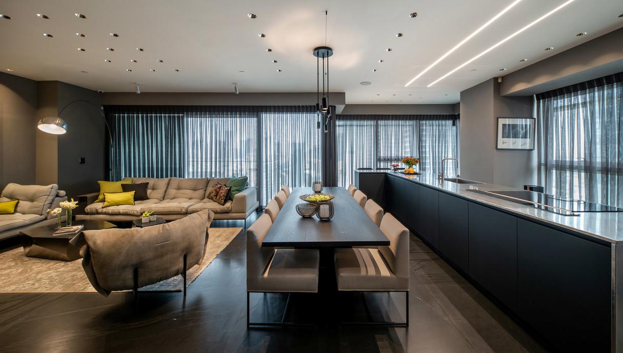 דירה בתל אביב, עיצוב יעל גל - 2