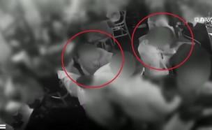 מצלמות אבטחה ממועדון בנגב  (צילום: חדשות)
