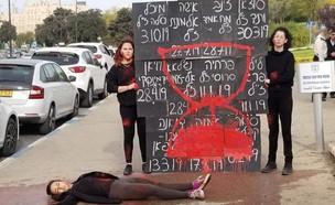 """יום המאבק באלימות נגד נשים (צילום: לוט""""ם)"""