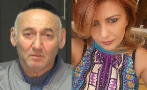 """מרינה ויצחק ראטוש (צילום: מתוך """"חדשות הבוקר"""" עם ניב רסקין, קשת 12)"""