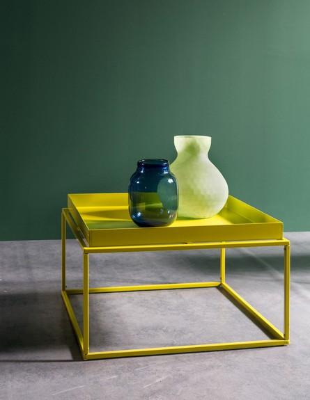 שולחן צד צהוב דגם בירדי ברשת ביתילי. 199 שח במקום 399  שח