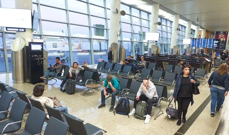 שדה התעופה במוסקבה (צילום:  Mikhail Leonov, shutterstock)