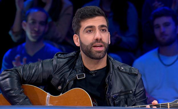 אליעד ואורי חזקיה בבאטל גיטרה  (צילום: מתוך