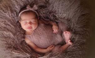 התינוקת של ליהיא גרינר, נובמבר 2019 (צילום: אנדה יואל, צלמת היריון)