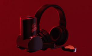 האוזניות של פרינגלס (צילום: פרינגלס)