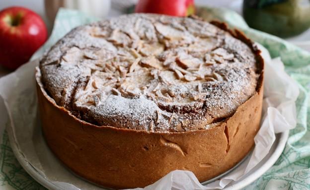 עוגת פאי תפוחים (צילום: קרן אגם, אוכל טוב)