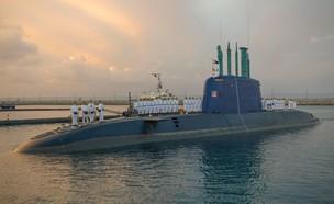 """צוללות חיל הים (צילום: זרוע הים, דובר צה""""ל)"""
