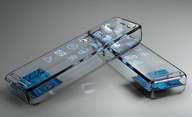 סלולרי מזכוכית (צילום: סמסונג נורווגיה)