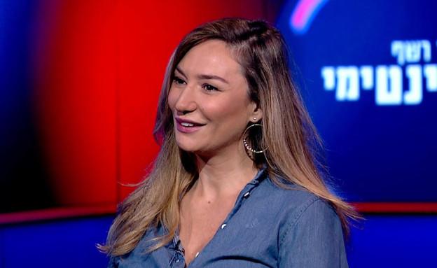 מיכל אנסקי מספרת על השם שהיא מתכננת לבתה (צילום: מתוך