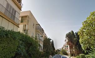רחוב ויזל תל אביב (צילום: google earth)