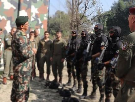 אימון משותף עם צבא נפאל (צילום: NepaleseArmyHQ)