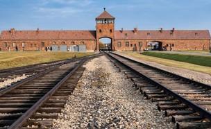 מחנה ההשמדה אושוויץ  (צילום: SKY NEWS)