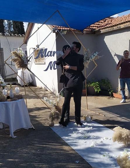 טקס האירוסין של טהוניה רובל, דצמבר 2019 (צילום: איציק אוחנה כתב הברנז'ה של כיכר השבת)